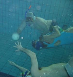Unterwasser-Rugby beim Tauch-Sport-Club Friedrichshafen
